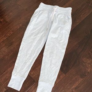 Zella joggers/sweats light blue